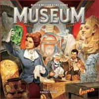 Museum - Board Game Box Shot