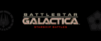 Battlestar Galactica: Starship Battles - Board Game Box Shot