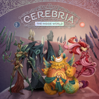 Cerebria: The Inside World - Board Game Box Shot