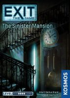 Exit the Game: The Sinister Mansion - Board Game Box Shot