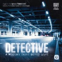 Detective: A Modern Crime Board Game - Board Game Box Shot