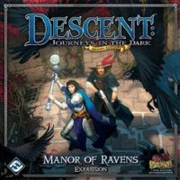 Descent: Journeys in the Dark (2ed) – Manor of Ravens - Board Game Box Shot
