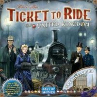 Ticket to Ride: United Kingdom - Board Game Box Shot