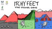Itchy Feet: The Travel Game - Board Game Box Shot