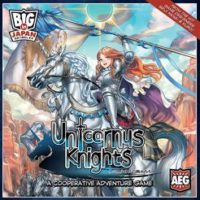 Unicornus Knights - Board Game Box Shot