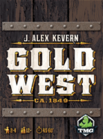 Gold West - Board Game Box Shot