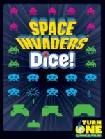 Space Invaders Dice - Board Game Box Shot