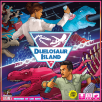Duelosaur Island - Board Game Box Shot