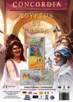 Concordia: Aegyptus/Creta - Board Game Box Shot