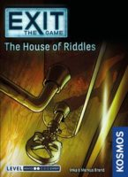 Exit the Game: The House of Riddles - Board Game Box Shot