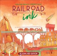 Railroad Ink: Blazing Red Edition - Board Game Box Shot