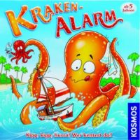 Kraken Alarm - Board Game Box Shot