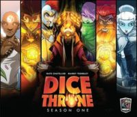 Dice Throne: Season One - Board Game Box Shot