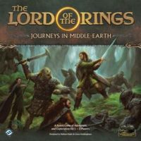 The Lord of the Rings: Journeys in Middle-earth - Board Game Box Shot
