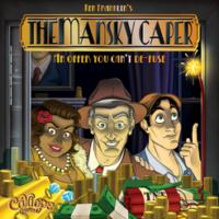 The Mansky Caper - Board Game Box Shot