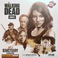 The Walking Dead: No Sanctuary – What Lies Ahead Expansion - Board Game Box Shot
