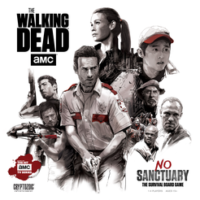 The Walking Dead: No Sanctuary - Board Game Box Shot