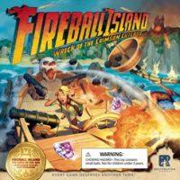 Fireball Island: The Curse of Vul-Kar – Wreck of the Crimson Cutlass - Board Game Box Shot