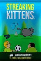 Exploding Kittens:  Streaking Kittens - Board Game Box Shot