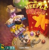 Meeple Circus - Board Game Box Shot