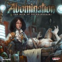 Abomination: The Heir of Frankenstein - Board Game Box Shot