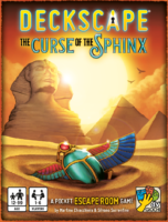 Deckscape – The curse of the Sphinx - Board Game Box Shot