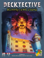 Decktective: Bloody-red roses - Board Game Box Shot