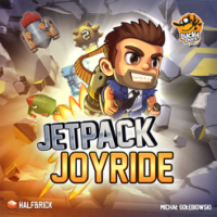 Jetpack Joyride - Board Game Box Shot