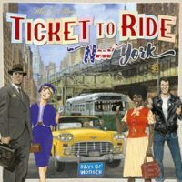 Ticket to Ride: New York - Board Game Box Shot
