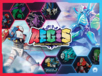 A.E.G.I.S.: Combining Robot Strategy Game - Board Game Box Shot