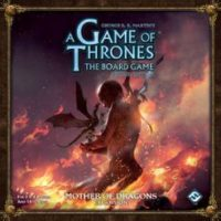 A Game of Thrones: The Board Game (2ed) – Mother of Dragons - Board Game Box Shot