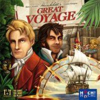 Humboldt's Great Voyage - Board Game Box Shot