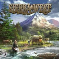 Sierra West - Board Game Box Shot