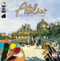Atelier: The Painter's Studio - Board Game Box Shot