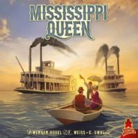 Mississippi Queen - Board Game Box Shot