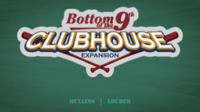 Bottom of the 9th: Clubhouse Expansion - Board Game Box Shot