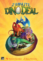 2 Minute Dino Deal - Board Game Box Shot
