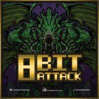 8 Bit Attack - Board Game Box Shot