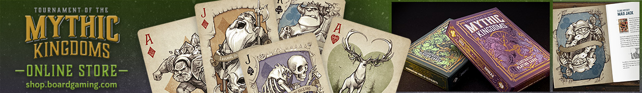 Check out these fantasy themed decks in our online store